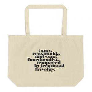 Irrational Frivolity Tote bag